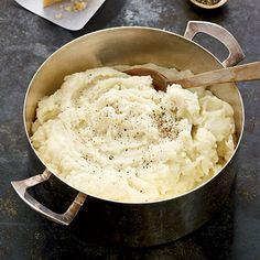Buttermilk-Parmesan Mashed Potatoes