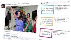 #SocialMedia #CaseStudy: @Dove Lets Women Give #Facebook #Advertising a Makeover