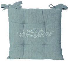 Coussin de chaise - SEB13113 Decoration, Towel, Shabby Chic, Couture, Chair, Decor, High Fashion, Sewing, Decorating