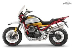Trick looking concept points to Moto Guzzi's adventure intentions