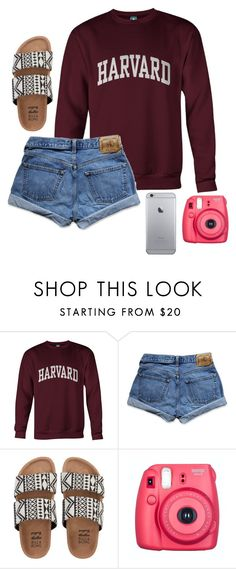 """Qotd!"" by eadurbala08 ❤ liked on Polyvore featuring Abercrombie & Fitch, Billabong and Fujifilm"