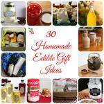 30 Homemade Edible Gifts
