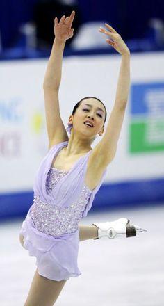2012年3月31日、6位になった浅田真央のフリーの演技
