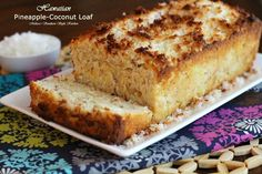 Melissa's Southern Style Kitchen: Hawaiian Pineapple-Coconut Loaf Cake