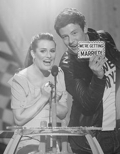 #Lea Michele #Cory Montieth this is so sad :( i really wanted to see them get married