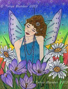 [Fantasy art] Spring Fairy by TanyaBlunden at Epilogue