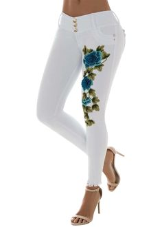 Flower Bomb Jean