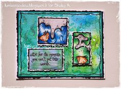 """On the Frame"" Shaky A. digistamps from Etsy shop https://www.etsy.com/it/listing/196563302/a-traballante-sul-telaio-timbro-digitale?ref=shop_home_active_3 coloured with Distress ink and Caran d'Ache Pablo by L'Universo di Eu"