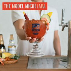"""National Michelada Day is here! And as The Chela for Micheladas™, all week long we've been asking our fans on Facebook how they make their own version of the perfect michelada. Inspired by their responses, we combined the best ideas to create our own signature version of the drink - the """""""