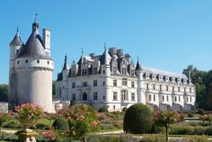 Frankreich, Schloss Chenonceau