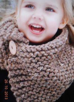 Leuke warme sjaal om zelf te breien