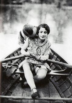 A Fine Romance  Vintage Biederer Postcard