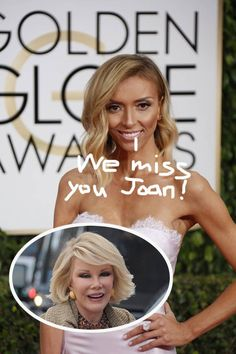 Giuliana Rancic Launches A New Personal Blog & Dedicates Her First Entry To Former Fashion Police Co-Star Joan Rivers!
