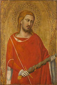 Taddeo Gaddi ~ Saint Julian, c.1340s