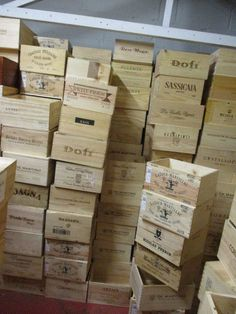 grandeco gold wooden wine boxes