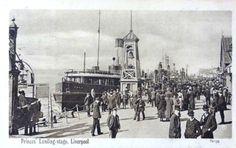Prince's Landing Stage, Liverpool 1909