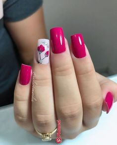 beautiful fall nail art design to copy now 2 ~ thereds.me : beautiful fall nail art design to copy now 2 ~ thereds. Elegant Nails, Stylish Nails, Fall Nail Art Designs, Pretty Nail Art, Nail Art Hacks, Flower Nails, Gorgeous Nails, Pink Nails, Pink Nail Art