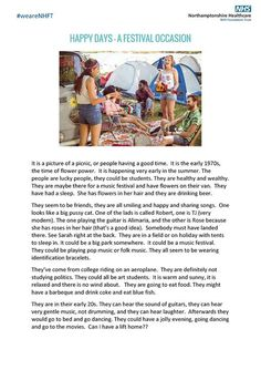 Here is a story created by our service users at the Forest Centre St Marys Hospital.  TimeSlips opens storytelling to everyone by replacing the pressure to remember with the freedom to imagine. Our service users are shown a photo and asked to tell the story of the people they see.  Orchard ward patients made a big contribution to today's story:  #weareNHFT