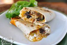Crispy+Southwest+Chicken+Wraps
