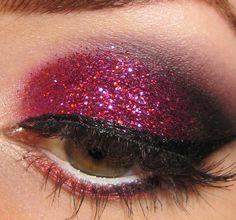 Sparkle Sensation - Click Pic for 18 Makeup Tips for Brown Eyed Girls