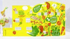 Healthy mural to prevent childhood obesity on Behance