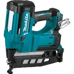 The Makita LXT® Lithium-Ion Cordless Straight Finish Nailer, 16 Ga. (model tool only) is an ideal solution for trim work, baseboard and crown molding installation, flooring and other woodworking applications. Crown Molding Installation, Makita Tools, Finish Nailer, Cordless Power Tools, Tacker, Nail Gun, Trim Work, Gauges, 2 In