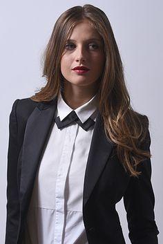 Maison F Paris - Créateur Cravatier - noeud a clipper noeud twist noeud papillon pour femmes