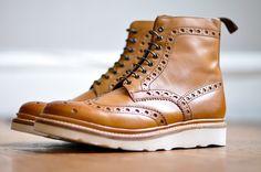 Boot and brogue combo. Sick