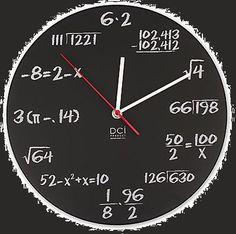 MATH CLOCK :Para arreglarme con las matemáticas.