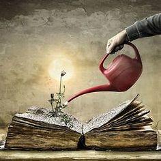 I Love Books, Books To Read, Nook Books, Reading Art, Girl Reading, Illustration, World Of Books, Surreal Art, Psychedelic Art