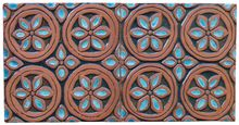 Handmade tile - Dama