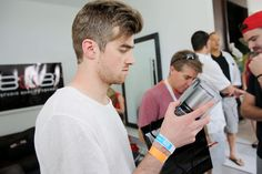 Andrew Taggart Photos Photos - Andrew Taggart of The Chainsmokers attends SiriusXM's 'UMF Radio' at the SiriusXM Music Lounge at W South Beach on March 28, 2014 in Miami Beach, Florida. - SiriusXM's 'UMF Radio' Broadcast Live