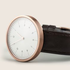 The Circles is the first collection of wristwatches from Hong Kong-based watch brand MMT, their first watch being a pocket watch. #watches #design