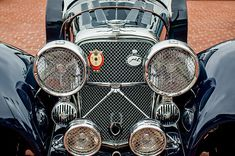 1950 Jaguar Xk120 Roadster Grille