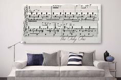 First Dance Lyrics On Canvas - A Custom Made Canvas With Your Wedding – Canvas Vows