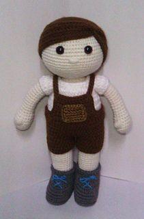 I got few request to make a boy using Maya basic doll pattern.