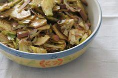 Briciole di Salute - ricette e consigli per mangiare in modo salutare: Insalata di carciofi violetto - Briciole di Salute...