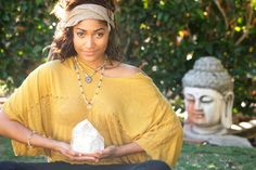 Using crystals for meditation is a powerful tool to deepen your meditation, as well as achieve a specific outcome during your meditation. On a spiritual level, meditating with crystals can help to raise your consciousness and awareness, deepening your intuition and bringing insight. #meditate #meditation