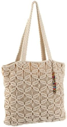 $89.00 Lucky Brand in Natural. Lucky Brand Lazy Daze Macrame Tote - Natural Material: Fabric. Handbag Trends,Fabric,Totes,Lucky Brand,Double Handles,Season's Best Deals,Bohemian Girl,Handbags,Fabric Handbags,Double Handle Macrame Design, Macrame Art, Micro Macrame, Crochet Handbags, Crochet Purses, Fabric Handbags, Handmade Handbags, Handmade Bags, Macrame Purse