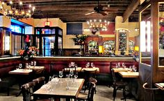 Dirty French at The Ludlow, opens Thursday (9/4/14) best to go with a group of people to enjoy the wraparound booths.  #urbandaddy