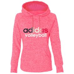 Adidas Women's Ultimate Fleece Volleyball Hoodie - Pink