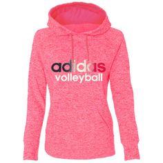 Adidas Women's Ultimate Fleece Volleyball Hoodie - Pink