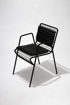 A Brutalist-Inspired Collection by SAVVY Studio and Pablo Limón Design Office - Design Milk Rattan Dining Chairs, Eames Chairs, Metal Chairs, Outdoor Chairs, Room Chairs, Indoor Outdoor, Steel Furniture, Cheap Furniture, Outdoor Furniture