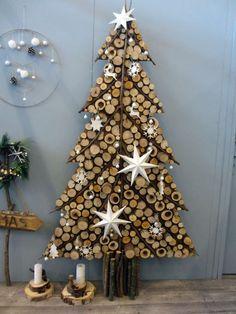 Inexpensive Christmas Tree Design Ideas On A Budget To Try Christmas Tree Design, Cork Christmas Trees, Creative Christmas Trees, Outdoor Christmas Decorations, Rustic Christmas, Xmas Tree, Christmas Home, Christmas Holidays, Christmas Wreaths