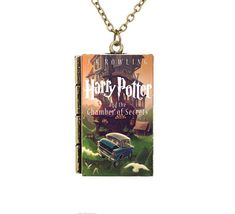 Check it out Potter Heads! AAA Miniature Harry Potter and the Chamber of Secrets TINY Book Pendant Necklace Harry Potter Merchandise, Harry Potter Art, Harry Potter Memes, Necklace Price, Dog Tag Necklace, Harry Potter Necklace, Chamber Of Secrets, Harry Potter Collection, Mischief Managed