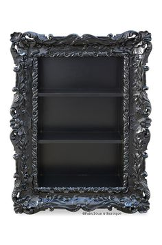 Gothic Jewelry Box Diy Felicia Wall Mounted Etagere - Black – Fabulous and Baroque - The Fabulous Baroque Furniture, Home Furniture, Black Furniture, Furniture Design, Furniture Stores, Rustic Furniture, Luxury Furniture, Furniture Dolly, Furniture Movers