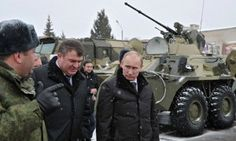 "On the heels of warning the US not to provoke ""the Bear,"" Vladimir Putin signed a military doctrine, declaring NATO Russia's enemy number one. Read more at http://patriotupdate.com/2014/12/putin-signs-military-doctrine-declaring-nato-enemy-number-one/"