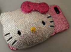 3D hello Kitty Mirror Compact iphone 4 case