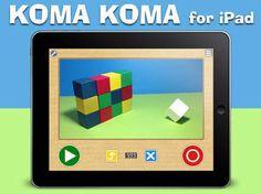 KOMA KOMA for iPad is a simple & easy stop motion animation app for iPad. Features•Simple user interface with only 4 buttons. (shoot / delete (1frame/all frames) / play (loop) / save)•Variable frame rate from 1fps to 30fps•Onion skinning•Automatic capture with time interval (3sec to 10min)•Save movie to Camera Roll•Email your work on flip book …
