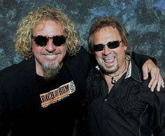 Former members of Van Halen. Now in Sammys band Chicken Foot!!